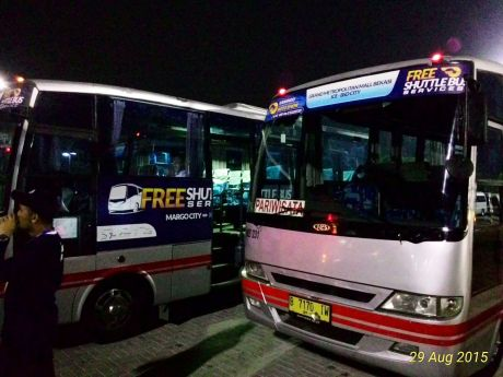 Free shuttle bus GIIAS 2015
