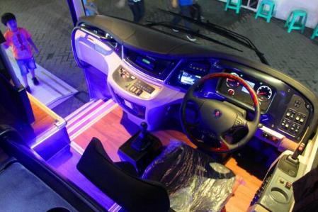 Scania K360 IB Dashboard