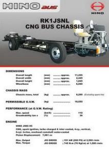 Hino Matic CNG