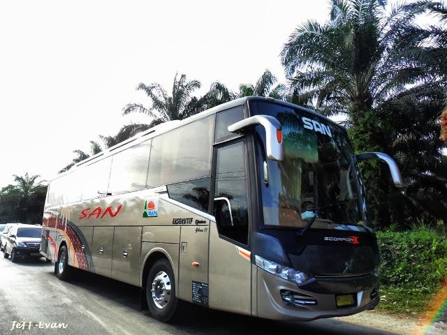 Profil PO. Siliwangi Antar Nusa (SAN), Perusahaan Otobus ...
