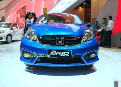 Lihat Langsung New Honda Brio Satya di IIMS