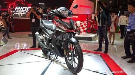 Honda Supra X 150 - Winner 150 5 tampilan depan