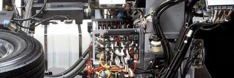 Mercedes Benz OC500RF 2542 Raised Floor Electrical
