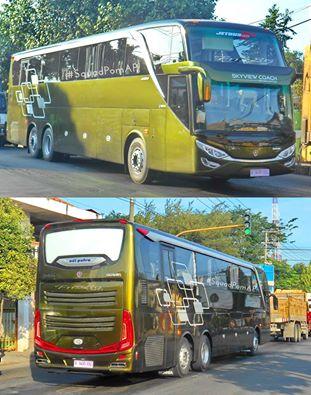GIIAS 2016 Adiputro Jetbus Setra SHD Scania K410