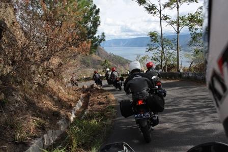 Touring kecil Rombongan GTR menuju Danau Toba